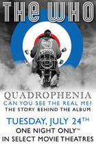 "Poster art for ""The Who - Quadrophenia: The Complete Story."""
