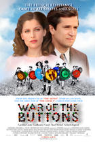 "Poster art for ""War of the Buttons."""