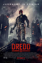 "Poster art for ""Dredd 3D."""