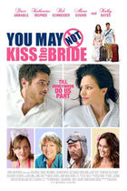 "Poster art for ""You May Not Kiss the Bride."""