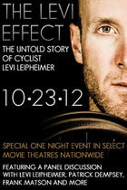 "Poster art for ""The Story of Levi Leipheimer."""