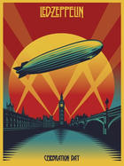 "Poster art for ""Led Zeppelin: Celebration Day."""