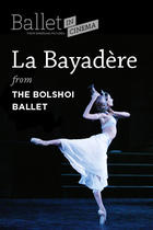 "Poster art for ""La Bayadere."""