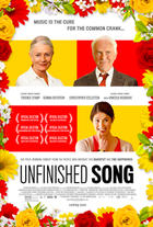 "Poster art for ""Unfinished Song."""