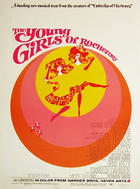 "Poster art for ""The Young Girls of Rochefort."""
