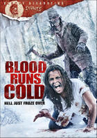"Poster art for ""Blood Runs Cold."""