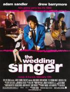 "Poster art for ""The Wedding Singer."""