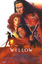 "Poster art for ""Willow."""