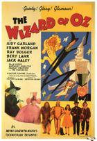 "Poster art for ""The Wizard of Oz"""