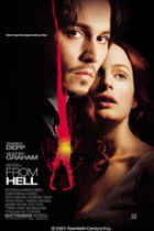 """From Hell"" movie poster."