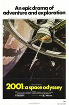"Poster art for ""2001: A Space Odyssey."""