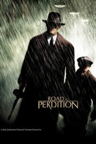 "Poster art for ""Road to Perdition."""