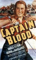 "Poster art for ""Captain Blood."""