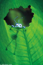 "Poster art for ""A Bug's Life."""