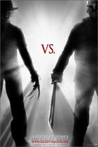 "Poster art for ""Freddy vs. Jason."""
