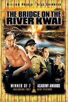 "Poster art for ""The Bridge on the River Kwai."""