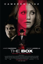 "Poster art for ""The Box."""