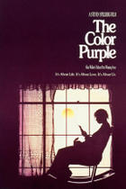 "Poster art for ""The Color Purple."""