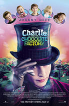 "Poster art for ""Charlie and the Chocolate Factory."""