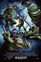 "Poster art for ""Teenage Mutant Ninja Turtles."""