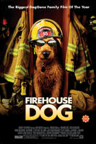 "Poster art for ""Firehouse Dog."""