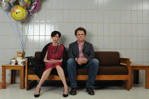 Tilda Swinton as Eva and John C. Reilly as Franklin in ``We Need to Talk About Kevin.''