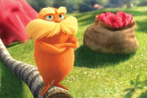 "The Lorax in ""The Lorax.''"