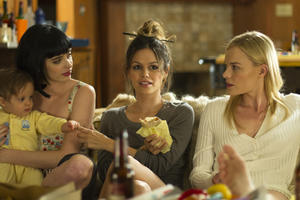 Krysten Ritter as Kim, Rachel Bilson as Laura and Kate Bosworth as Deena in ``Life Happens.''