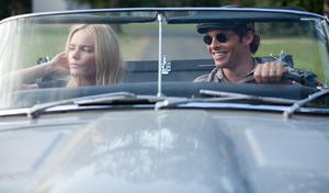 "Kate Bosworth as Amy Sumner and James Marsden as David Sumner in ""Straw Dogs."""