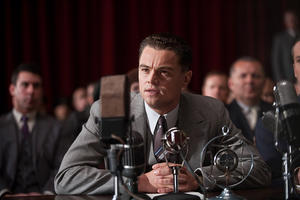 "Leonardo DiCaprio as J. Edgar Hoover in ""J. Edgar."""