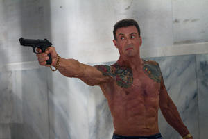 "Sylvester Stallone as Jimmy Bobo in ""Bullet To The Head."""