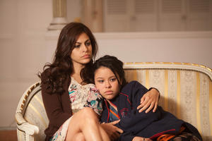 "Eva Mendez as Grace and Cierra Ramirez as Ansiedad in ""Girl in Progress."""