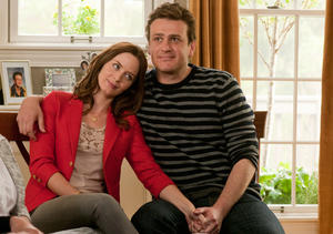 "Emily Blunt and Jason Segel in ""The Five-Year Engagement."""