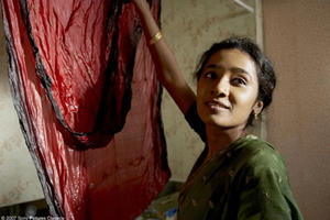 "Tannishtha Chatterjee as Nazneen in ""Brick Lane."""