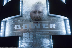 "Ben Foster as Brower in ""Pandorum."""