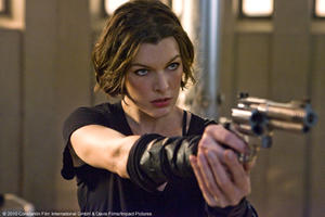 "Milla Jovovich as Alice in ""Resident Evil: Afterlife."""