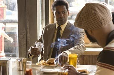 "Denzel Washington in ""American Gangster"" (2007)"