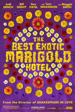 "Teaser post art for ""The Best Exotic Marigold Hotel."""