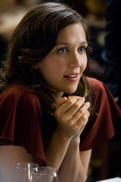 "Maggie Gyllenhaal in ""The Dark Knight."""