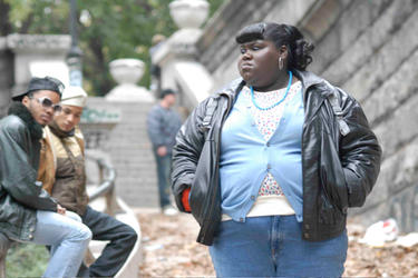 "Gabourey ""Gabby"" Sidibe as Claireece ""Precious"" Jones in ""Precious."""