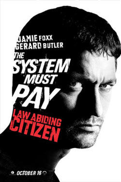 "Poster art for ""Law Abiding Citizen."""
