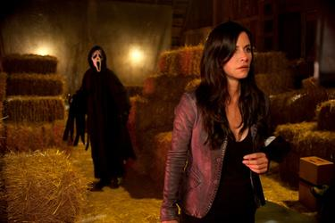 "Courtney Cox in ""Scream 4."""