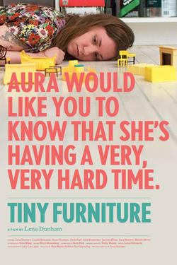 "Poster art for ""Tiny Furniture"""