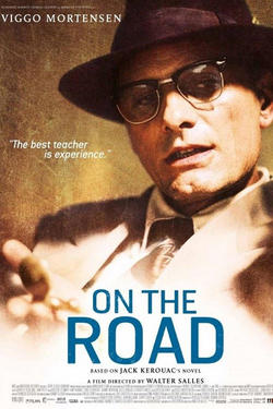 "Poster art for ""On the Road."""