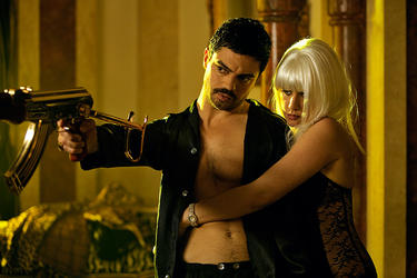"Dominic Cooper and Ludivine Sagnier in ""The Devil's Double."""
