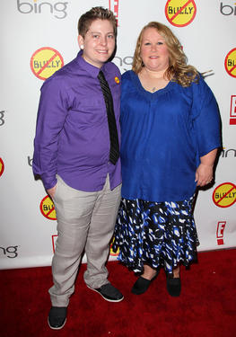 "Kelby Johnson and Londa Johnson at the  California premiere of ""Bully."""