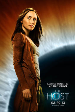 "Character poster art from ""The Host."""