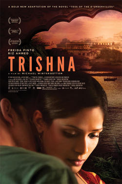 "Poster art for ""Trishna."""