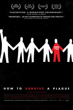 "Poster art for ""How to Survive a Plague."""