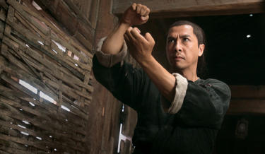 "Donnie Yen in ""Dragon."""